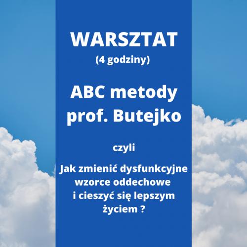 Metoda TMB - ABC metody prof. Butejko - WARSZTAT