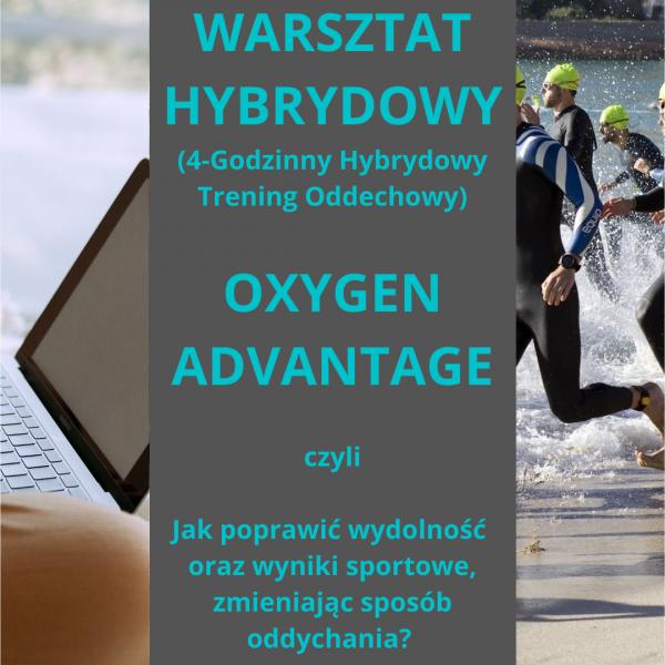 4-Godzinny Hybrydowy Trening Oddechowy. Oxygen Advantage.