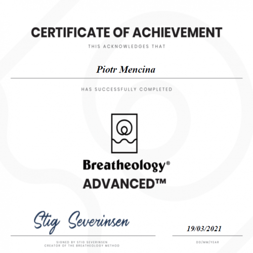 Breatheology Ceryfikat (2)