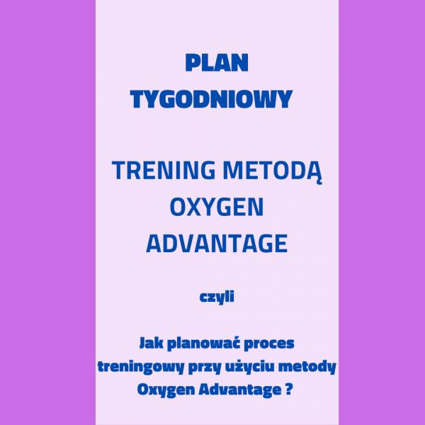 Tygodniowy Plan Treningowy - metoda Oxygen Advantage